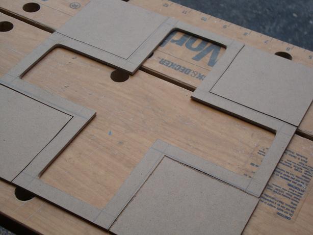 d-pad frame