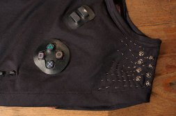 Detail of Playstation Controller Male Garment Snaps