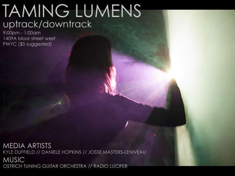 Taming Lumens Poster