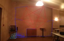 Quick diagram of Pentagram in the space