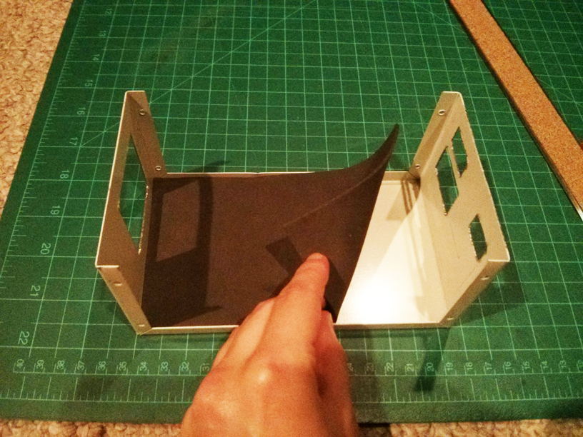 Project box and foam lining