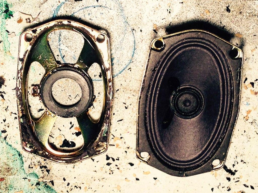 Turning Speaker Drivers into Sensor Mounts