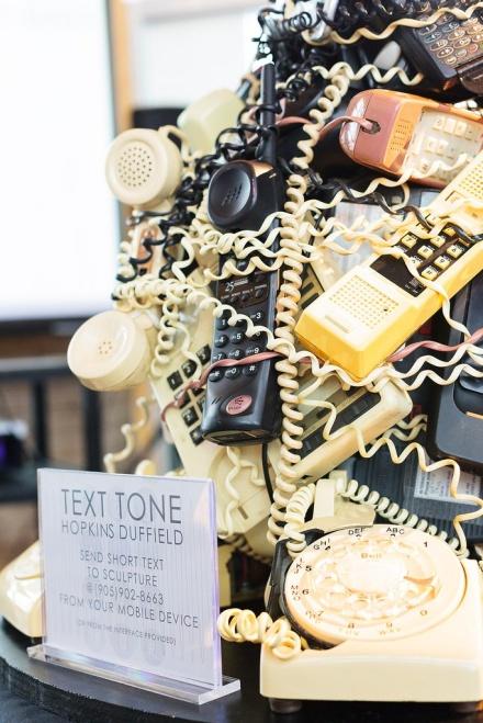 Text Tone Sculpture