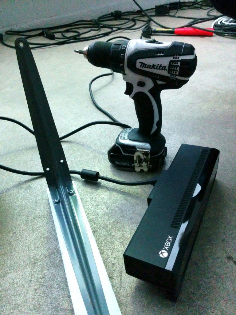 Creating the mount for the Kinect 2!