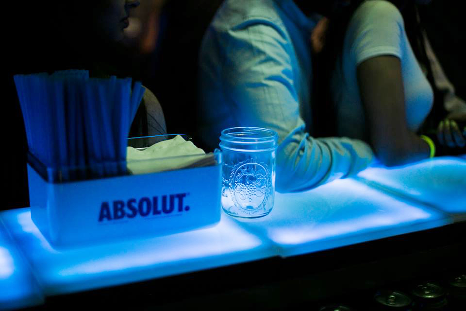LED Tiles on 2nd Floor Events for Absolut Nights Toronto