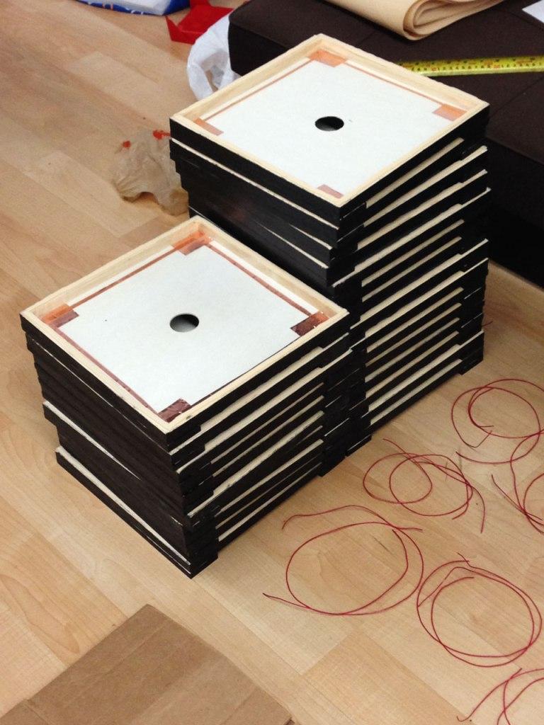 Half Assembled Tiles