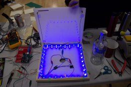 LED tile prototype