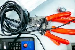 wire strippers and cabling