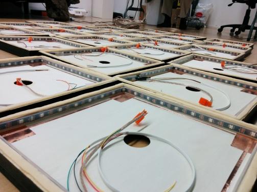 LED's in Tiles!